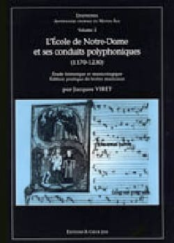 - The School of Notre Dame and its Polyphonic Conduits - Sheet Music - di-arezzo.com