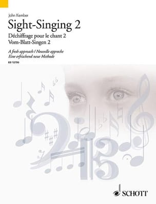 John Kember - Sight-Singing Volume 2 - Partition - di-arezzo.fr