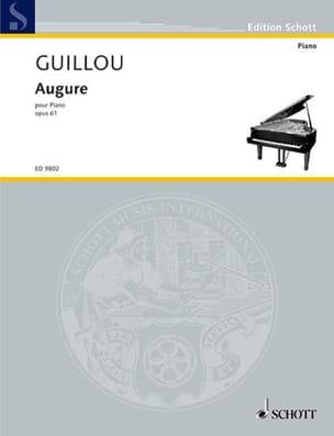 Augure Op. 61 Jean Guillou Partition Piano - laflutedepan