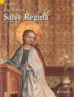 Salve Regina Naji Hakim Partition Orgue - laflutedepan