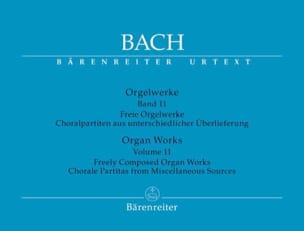 Jean-Sébastien Bach - Orgelwerke. Band 11. Urtext Der Neuen Bach-Ausgabe - Partition - di-arezzo.fr
