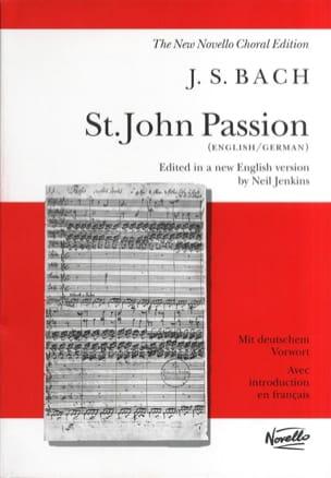 BACH - Passion Selon Saint Jean. BWV 245 - Partition - di-arezzo.fr