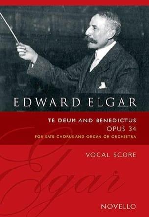 Te Deum And Benedictus Op. 34 - Edward Elgar - laflutedepan.com