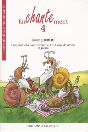 Julien Joubert - Enchantment 4 - Sheet Music - di-arezzo.co.uk