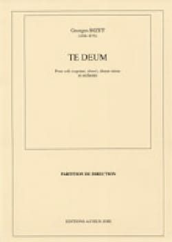 BIZET - Te Deum - Sheet Music - di-arezzo.co.uk