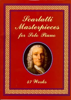 Masterpieces For Solo Piano Domenico Scarlatti Partition laflutedepan