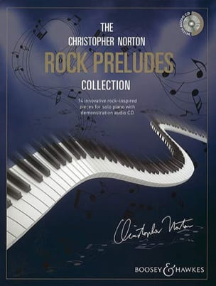Rock Preludes Collection + Cd - Christopher Norton - laflutedepan.com