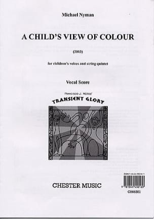 Michael Nyman - A Child's View Of Colour - Partition - di-arezzo.fr