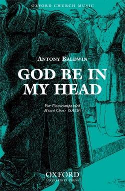 Baldwin - God Be In My Head - Sheet Music - di-arezzo.com