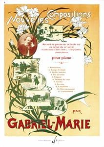 Nouvelles Compositions Gabriel-Marie Partition Piano - laflutedepan