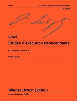Franz Liszt - Transcendental Execution Studies and Major Studies 2 and 7 - Sheet Music - di-arezzo.com