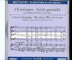 9ème Symphonie Opus 125 et Chorfantasie Opus 80. CD Ténor laflutedepan