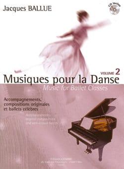 Musiques Pour la Danse Volume 2 - Jacques Ballue - laflutedepan.com