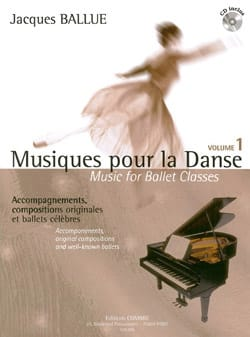 Jacques Ballue - Music For Dance Volume 1 - Sheet Music - di-arezzo.com