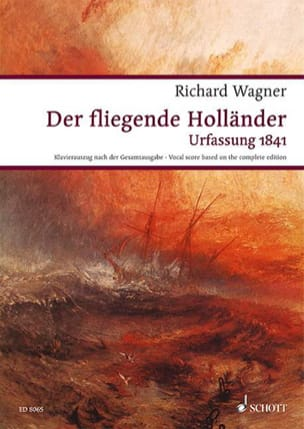 Richard Wagner - Der Fliegende Holländer Wwv 63 - Partition - di-arezzo.fr