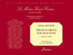 Pièces D'orgue sur les 8 Tons Op. 2 - laflutedepan.com