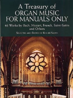 A Treasury Of Organ Music For Manuals Only Partition laflutedepan