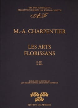 Les Arts Florissants H 487 et 487a CHARPENTIER Partition laflutedepan