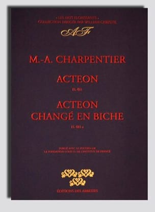 Marc-Antoine Charpentier - Actéon, and Actéon Changé En Biche - Sheet Music - di-arezzo.com