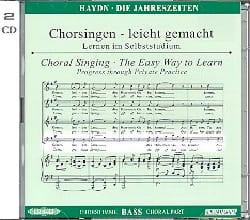 Joseph Haydn - Les Saisons CD Basse. - Partition - di-arezzo.fr