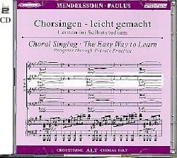 MENDELSSOHN - Paulus Opus 36. 2 Cd Alto - Sheet Music - di-arezzo.com
