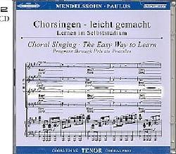 Paulus Opus 36. 2 CD Ténor - Félix MENDELSSOHN - laflutedepan.com
