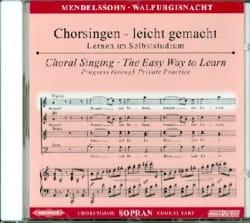 Félix MENDELSSOHN - Die Erste Walpurgisnacht Op. 60. CD Soprano - Partition - di-arezzo.fr
