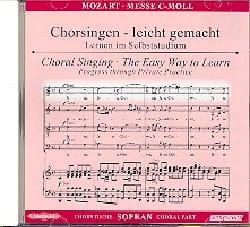 MOZART - Grande Messa in Do minore K 427. CD Soprano. - Partitura - di-arezzo.it