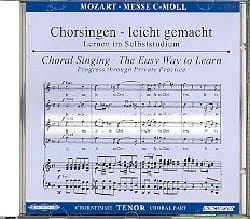 MOZART - Grande Messe En Ut Mineur K 427. CD Ténor. - Partition - di-arezzo.fr