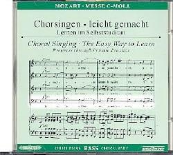 MOZART - Grande Messe En Ut Mineur K 427. CD Basse. - Partition - di-arezzo.fr