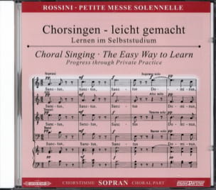 Petite Messe Solennelle. CD Soprano ROSSINI Partition laflutedepan