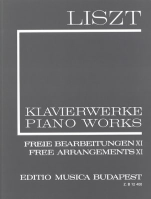 Free Arrangements, Série 2 Volume 11 LISZT Partition laflutedepan