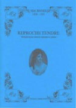 Reproche Tendre Op. 49 - Mel Bonis - Partition - laflutedepan.com