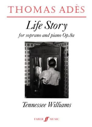 Life Story Op. 8a - Thomas Adès - Partition - laflutedepan.com