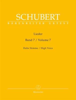 Lieder Volume 7. Voix Haute - Franz Schubert - laflutedepan.com