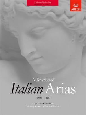 Italian Arias 1600-1800 Volume 2. Voix Haute - laflutedepan.com