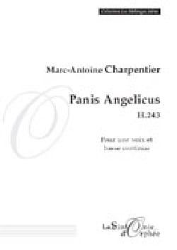 Panis Angelicus H 243 CHARPENTIER Partition Mélodies - laflutedepan