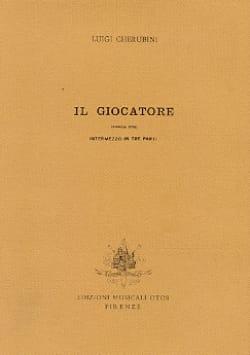 Luigi Cherubini - Il Giocatore - Sheet Music - di-arezzo.com
