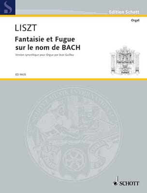 Franz Liszt - Fantasy and Fugue on Bach's Name - Sheet Music - di-arezzo.co.uk