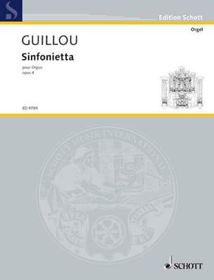 Sinfonietta Opus 4 - Jean Guillou - Partition - laflutedepan.com