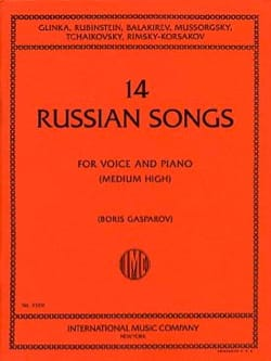 - 14 Russian Songs. Voix Haute - Partition - di-arezzo.fr