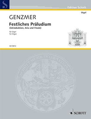 Harald Genzmer - Festliches Präludium - Sheet Music - di-arezzo.com