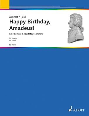 Happy Birthday, Amadeus - Dietrich Paul - Partition - laflutedepan.com