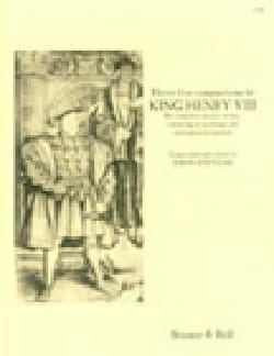 Henry Vlll KING - 35 Compositions - Partition - di-arezzo.fr
