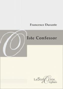 Iste Confessor. Conducteur - Francesco Durante - laflutedepan.com