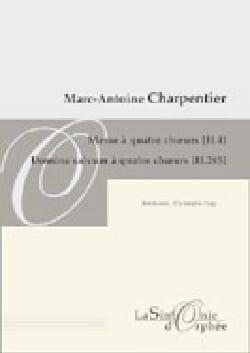Marc-Antoine Charpentier - Messe A 4 Choeurs H 4 / Domine Salvum Fac Regem H 285. Conducteur - Partition - di-arezzo.fr