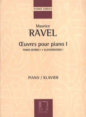 Maurice Ravel - Piano Works Volumen 1 - Partition - di-arezzo.es