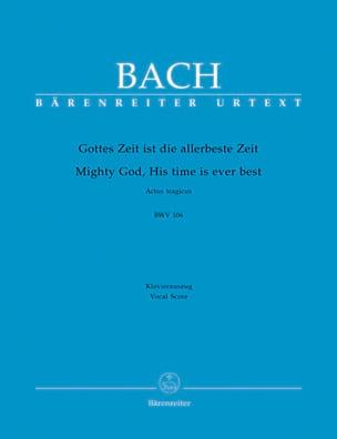 BACH - Cantate 106 Gottes Zeit Ist Die Allerbeste Zeit - Sheet Music - di-arezzo.co.uk