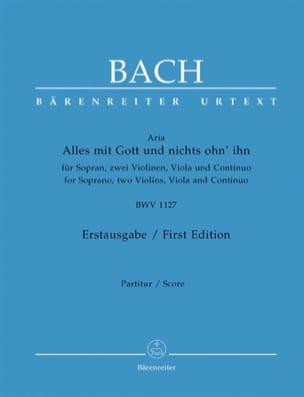 Alles Mit Gott Und Nichts Ohn' Ihn BWV 1127 BACH laflutedepan