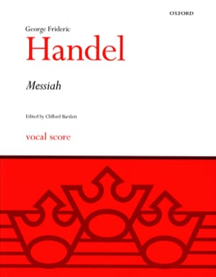 Georg-Friedrich Haendel - Messiah - Partition - di-arezzo.fr